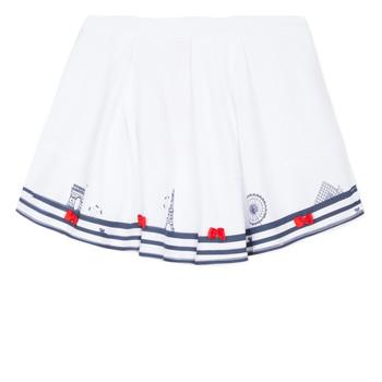 Odjeća Djevojčica Suknje Lili Gaufrette BELINDA Bijela