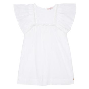 Odjeća Djevojčica Kratke haljine Lili Gaufrette MELINA Bijela