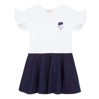 Odjeća Djevojčica Kratke haljine Lili Gaufrette PERRINE Bijela
