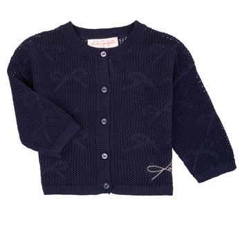 Odjeća Djevojčica Veste i kardigani Lili Gaufrette CETELIA Blue