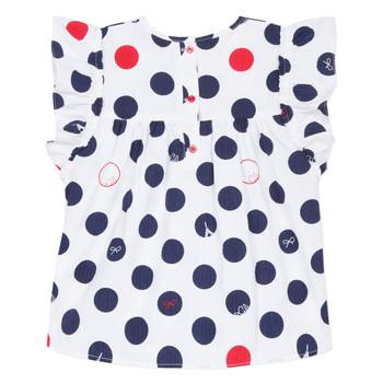Odjeća Djevojčica Topovi i bluze Lili Gaufrette POUSSI Bijela
