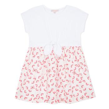 Odjeća Djevojčica Kratke haljine Lili Gaufrette CAYDEN Bijela