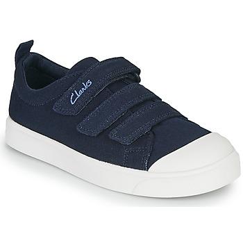 Obuća Djeca Niske tenisice Clarks CITY VIBE K Blue