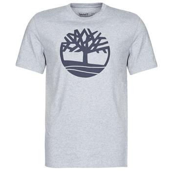 Odjeća Muškarci  Majice kratkih rukava Timberland SS KENNEBEC RIVER BRAND TREE TEE Siva