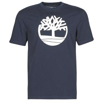 Odjeća Muškarci  Majice kratkih rukava Timberland SS KENNEBEC RIVER BRAND TREE TEE Blue