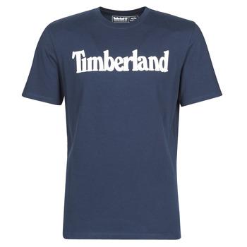 Odjeća Muškarci  Majice kratkih rukava Timberland SS KENNEBEC RIVER BRAND LINEAR TEE Blue