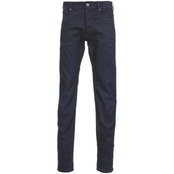 Odjeća Muškarci  Traperice ravnog kroja G-Star Raw 3301 TAPERED Visor / Stretch / Denim / Dark / Aged