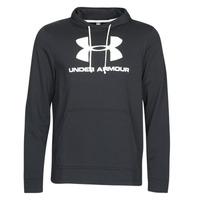Odjeća Muškarci  Sportske majice Under Armour SPORTSTYLE TERRY LOGO HOODIE Crna