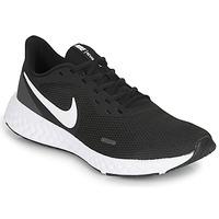 Obuća Muškarci  Running/Trail Nike REVOLUTION 5 Crna / Bijela