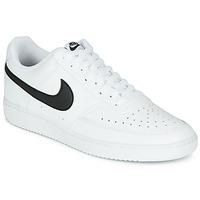 Obuća Muškarci  Niske tenisice Nike COURT VISION LOW Bijela / Crna