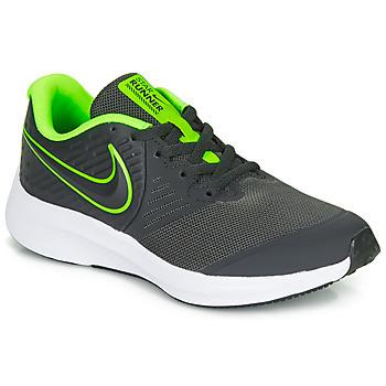 Obuća Dječak  Multisport Nike STAR RUNNER 2 GS Crna / Zelena