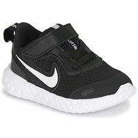 Obuća Djeca Niske tenisice Nike REVOLUTION 5 TD Crna / Bijela