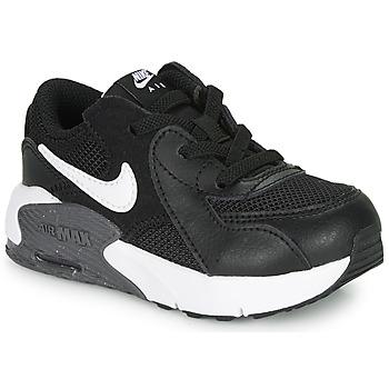Obuća Djeca Niske tenisice Nike AIR MAX EXCEE TD Crna / Bijela