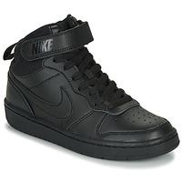 Obuća Djeca Niske tenisice Nike COURT BOROUGH MID 2 GS Crna