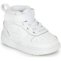 Obuća Djeca Niske tenisice Nike COURT BOROUGH MID 2 TD Bijela