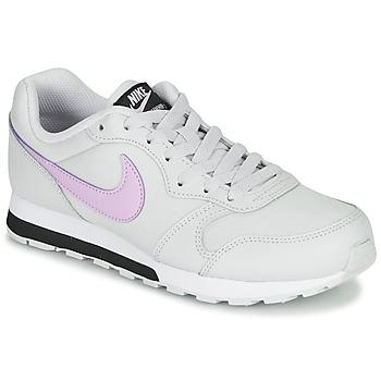 Obuća Djevojčica Niske tenisice Nike MD RUNNER GS Bijela / Ružičasta