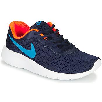 Obuća Dječak  Niske tenisice Nike TANJUN GS Blue