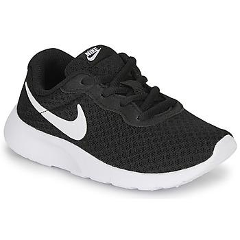 Obuća Djeca Niske tenisice Nike TANJUN PS Crna / Bijela