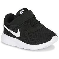 Obuća Djeca Niske tenisice Nike TANJUN TD Crna / Bijela