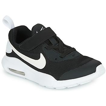 Obuća Djeca Niske tenisice Nike AIR MAX OKETO PS Crna / Bijela