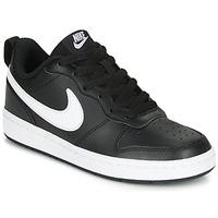 Obuća Djeca Niske tenisice Nike COURT BOROUGH LOW 2 GS Crna / Bijela