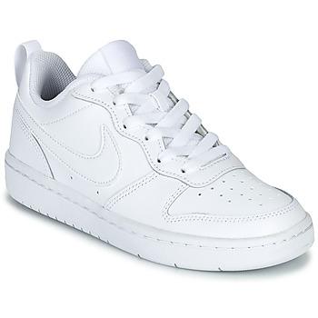Obuća Djeca Niske tenisice Nike COURT BOROUGH LOW 2 GS Bijela