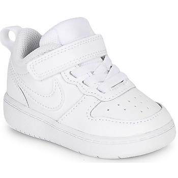 Obuća Djeca Niske tenisice Nike COURT BOROUGH LOW 2 TD Bijela
