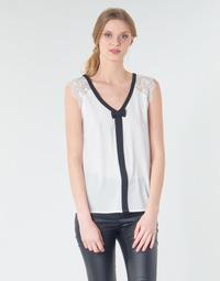 Odjeća Žene  Topovi i bluze Naf Naf CORAZON Bijela