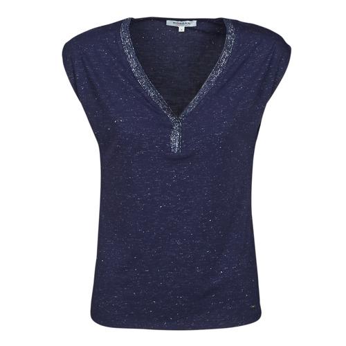 Odjeća Žene  Majice kratkih rukava Morgan DMAYA Blue
