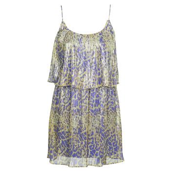 Odjeća Žene  Kratke haljine Marciano LIQUID LEOPARD DRESS Multicolour