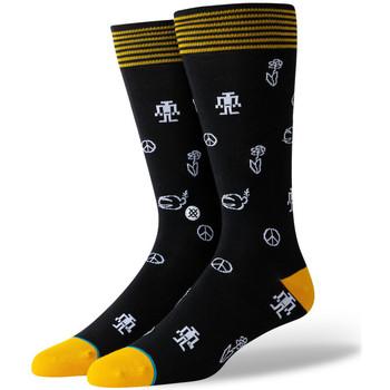 Modni dodaci Muškarci  Čarape Stance Robot peace Crna