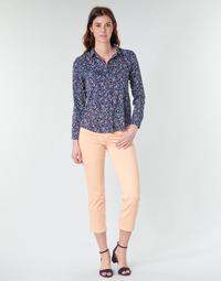 Odjeća Žene  Hlače s pet džepova Freeman T.Porter LOREEN NEW MAGIC COLOR Koraljna-ružičasta