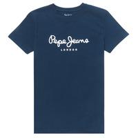 Odjeća Dječak  Majice kratkih rukava Pepe jeans ART Blue