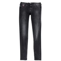 Odjeća Djevojčica Slim traperice Pepe jeans PAULETTE Crna