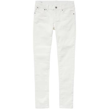 Odjeća Djevojčica Slim traperice Pepe jeans PIXLETTE Bijela