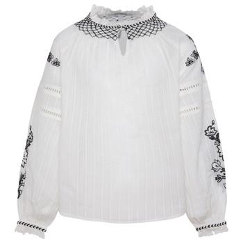 Odjeća Djevojčica Topovi i bluze Pepe jeans RONIE Bijela