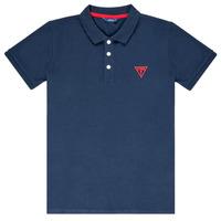 Odjeća Dječak  Polo majice kratkih rukava Guess  Blue