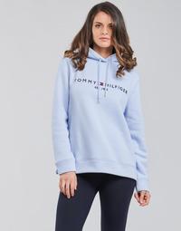 Odjeća Žene  Sportske majice Tommy Hilfiger TH ESS HILFIGER HOODIE LS Blue / Nebesko plava