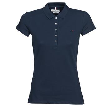 Odjeća Žene  Polo majice kratkih rukava Tommy Hilfiger HERITAGE SS SLIM POLO Blue