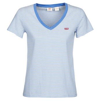 Odjeća Žene  Majice kratkih rukava Levi's PERFECT VNECK Bijela / Blue