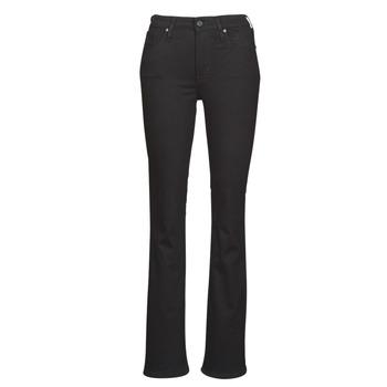 Odjeća Žene  Bootcut traperice Levi's 725 HIGH RISE BOOTCUT Crna