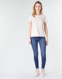 Odjeća Žene  Skinny traperice Levi's 720 HIRISE SUPER SKINNY Echo / Storm
