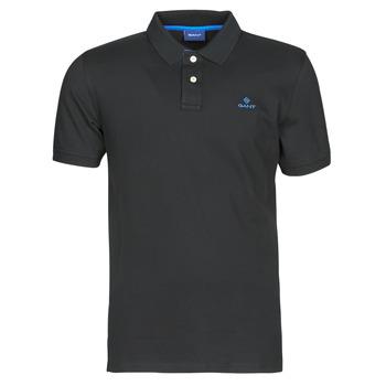 Odjeća Muškarci  Polo majice kratkih rukava Gant GANT CONTRAST COLLAR PIQUE POLO Crna / Blue