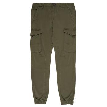 Odjeća Dječak  Cargo hlače Jack & Jones JJIPAUL Kaki