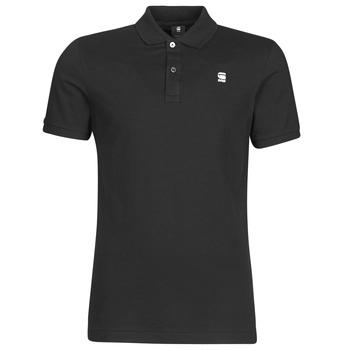 Odjeća Muškarci  Polo majice kratkih rukava G-Star Raw DUNDA SLIM POLO SS Crna
