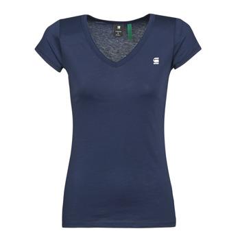 Odjeća Žene  Majice kratkih rukava G-Star Raw EYBEN SLIM V T WMN SS Blue