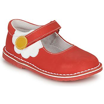 Obuća Djevojčica Balerinke i Mary Jane cipele André PAQUERETTE Red