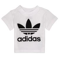 Odjeća Djeca Majice kratkih rukava adidas Originals MAELYS Bijela