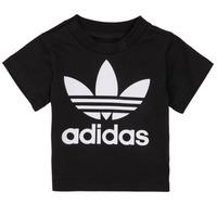 Odjeća Djeca Majice kratkih rukava adidas Originals MARGOT Crna