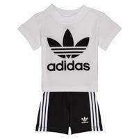 Odjeća Dječak  Dječji kompleti adidas Originals CAROLINE Bijela / Crna
